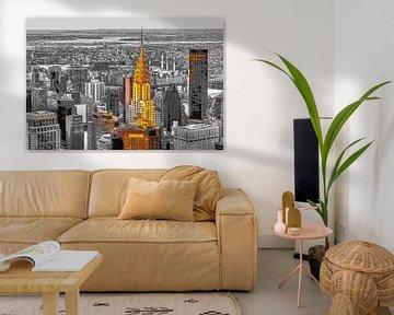 Chrysler Building New York van Rene Ladenius Digital Art