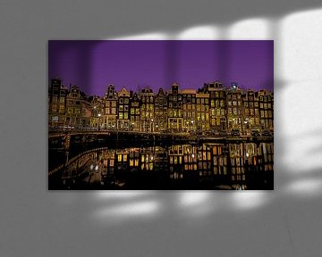 Amsterdam van Rene Ladenius Digital Art