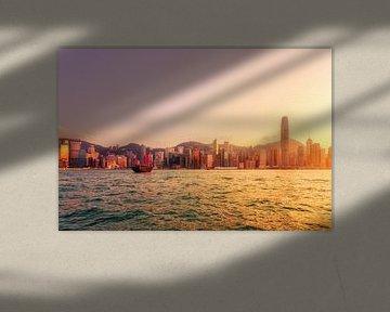 Red Boat in Hong Kong