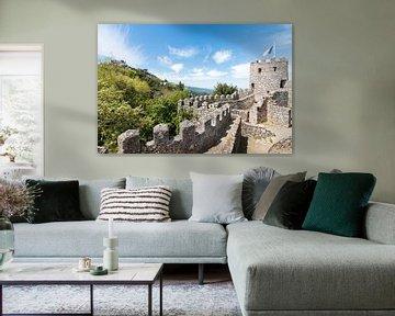 Moorish Castle, in Sintra, Portugal. von Aukelien Philips