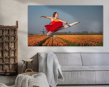 Ballerina Sprong van peterheinspictures
