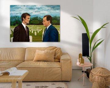 Six Feet Under Schilderij van Paul Meijering