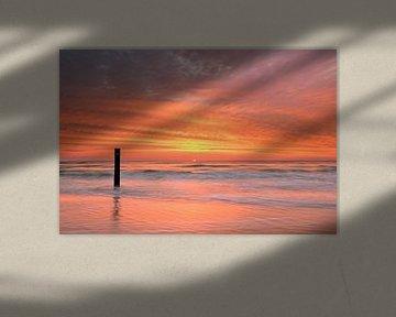Noordzeekust Texel van John Leeninga