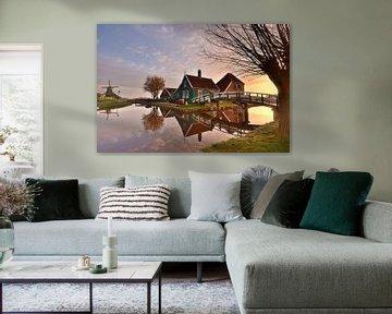 Kaarboerderij Zaanse Schans van John Leeninga
