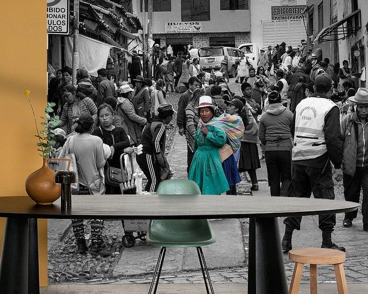 Beispiel fototapete: zum Markt von Eddie Meijer