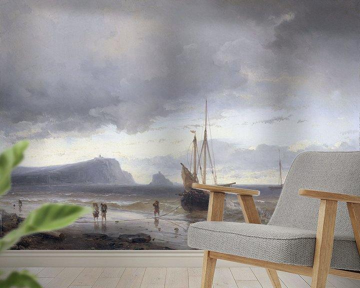 Beispiel fototapete: Entlang der Küste, Louis Meijer