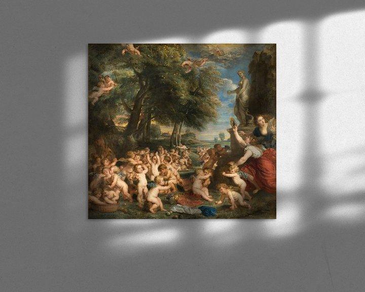 Beispiel: Die Verehrung der Venus, Peter Paul Rubens