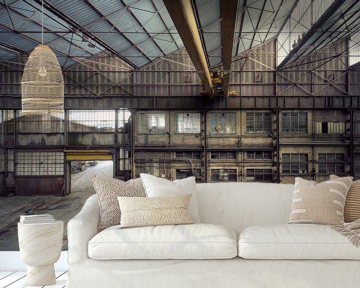 Beispiel fototapete: Urbex - Industrie von Angelique Brunas