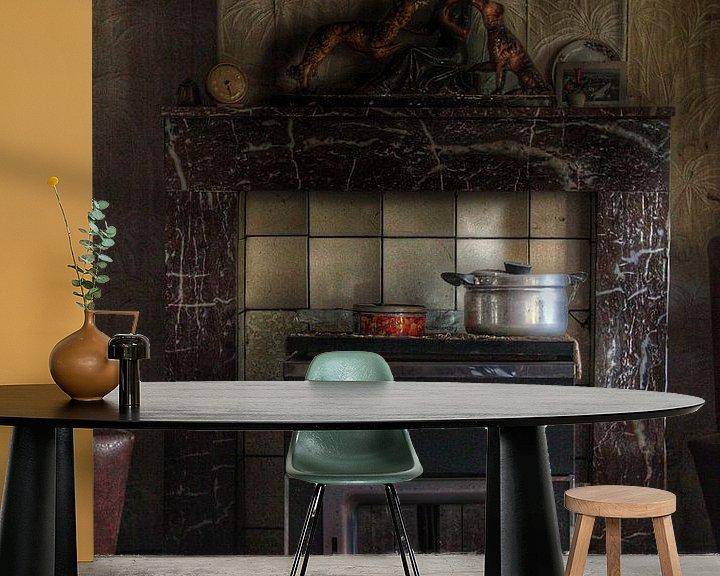 Beispiel fototapete: Kachel in een spookhuis von Melvin Meijer