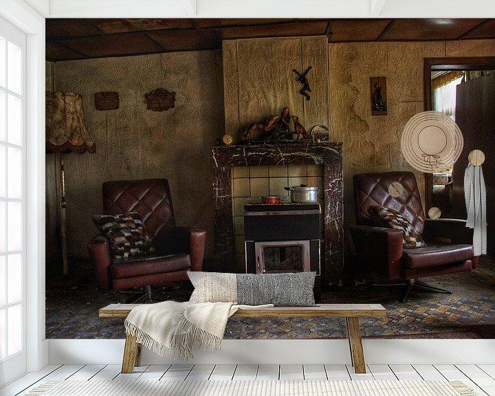 Beispiel fototapete: Een verlaten woonkamer ergens in België von Melvin Meijer
