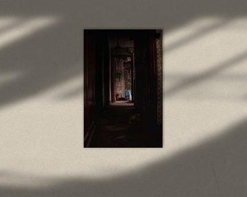 Gang van een spookhuis von Melvin Meijer