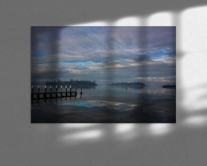 Sfeerimpressie: Veerse meer bij Kamperland van Teus Reijmerink