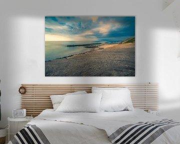 Lønstrup Strand (Denemarken) van Bart Sallé