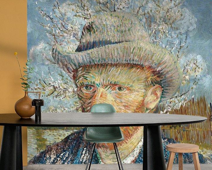 Beispiel fototapete: Van Gogh