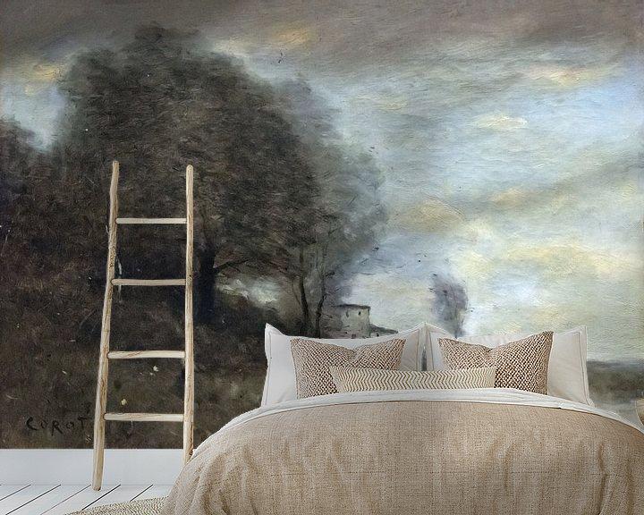 Beispiel fototapete: Landschaft, Jean-Baptiste Camille Corot