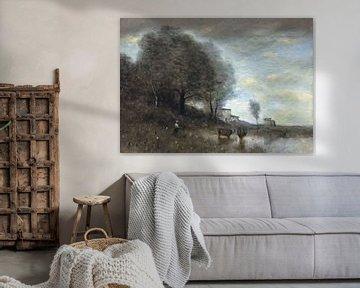 Landschaft, Jean-Baptiste Camille Corot
