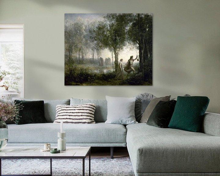 Beispiel: Orpheus führt Eurydike aus der Unterwelt, Jean-Baptiste-Camille Corot