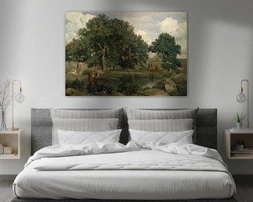 Wald von Fontainebleau, Jean-Baptiste-Camille Corot