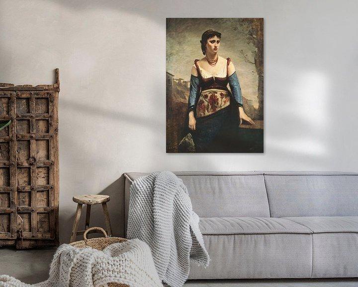 Beispiel: Agostina, Jean-Baptiste-Camille Corot