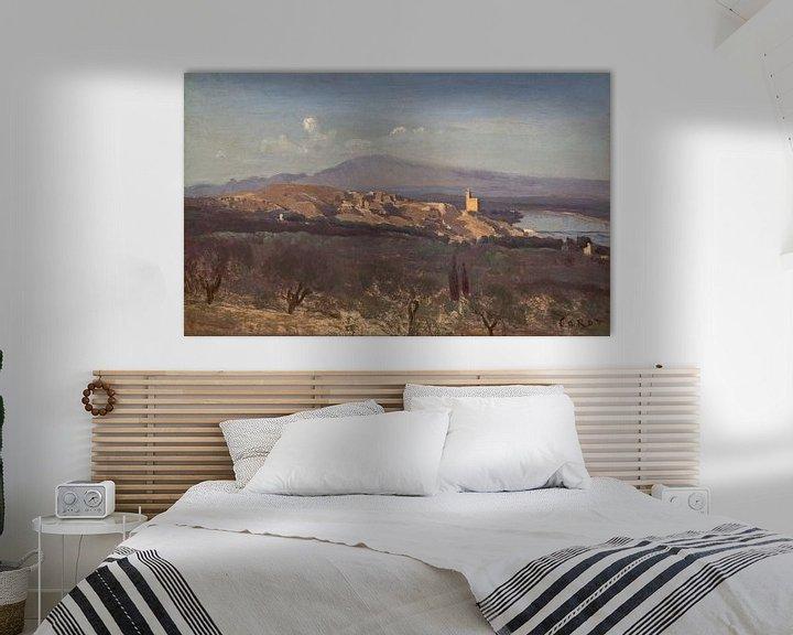 Beispiel: Villeneuve-les-Avignon, Jean-Baptiste-Camille Corot