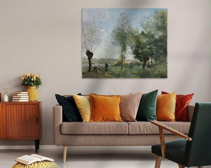 Beispiel: Souvenir von Coubron, Jean-Baptiste-Camille Corot