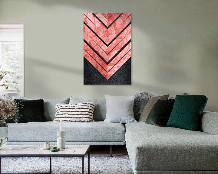 Sfeerimpressie: Geometric XXXXI van Art Design Works