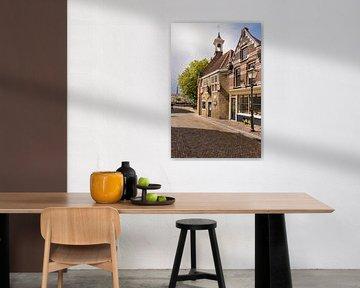 Die Zakkendragershuisje in Rotterdam Delfshaven von Charlene van Koesveld