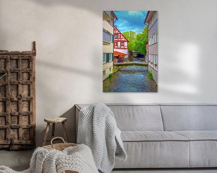 Sfeerimpressie: River Blau throught Ulm van Michael Nägele