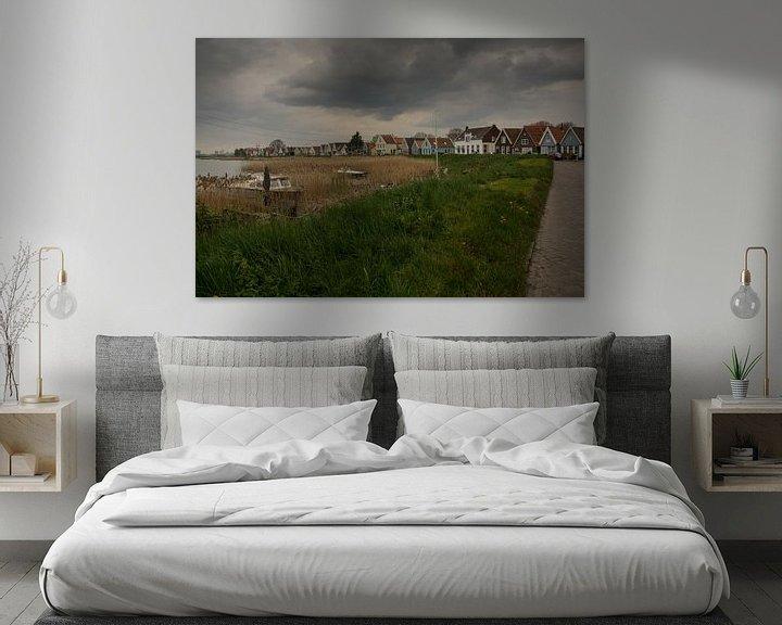 Sfeerimpressie: Durgerdam. van Tanja de Mooij