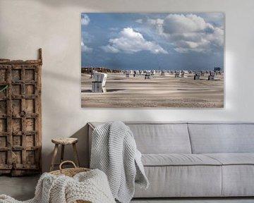 Flugsand am Strand von Annett Mirsberger