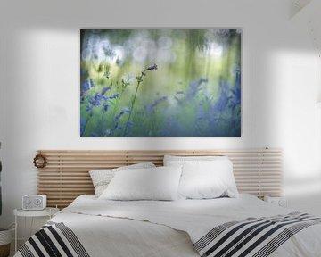 Blue and white von Christl Deckx