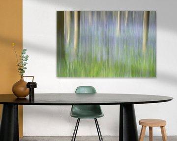 Blue forest van Christl Deckx
