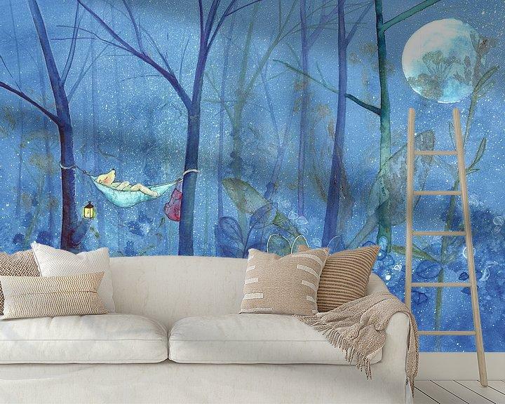 Sfeerimpressie behang: Uppie van Martine van Nieuwenhuyzen