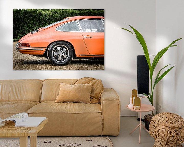 Beispiel: Porsche 911 Carrera 1966 klassischer Sportwagen von Sjoerd van der Wal
