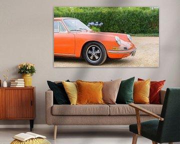 Porsche 911 Carrera 1966 klassischer Sportwagen von Sjoerd van der Wal
