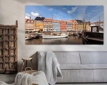 Nyhavn à Copenhague sur Werner Dieterich
