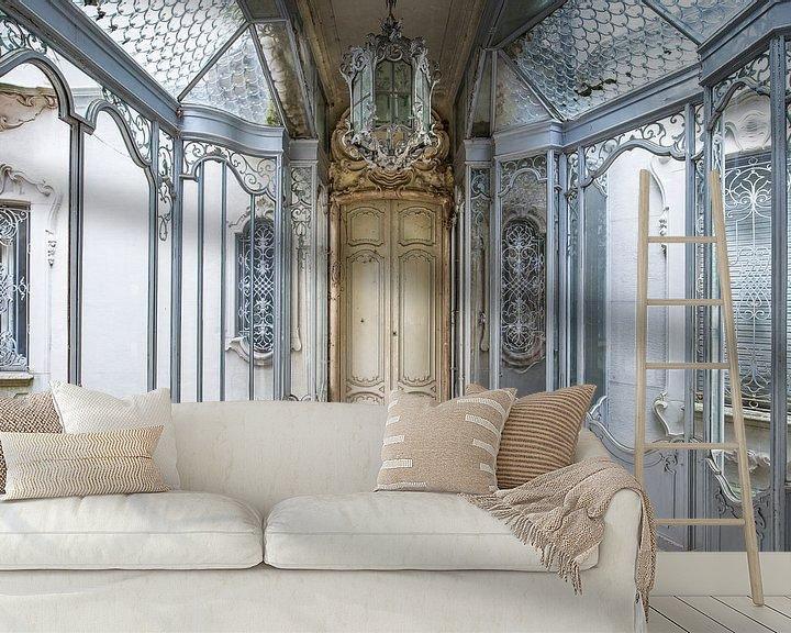 Beispiel fototapete: Verlassene architektonische Eingangshalle von Kristof Ven