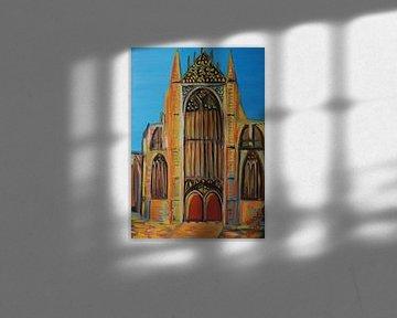 Hooglandse Kerk Leiden van Bart Langeveld