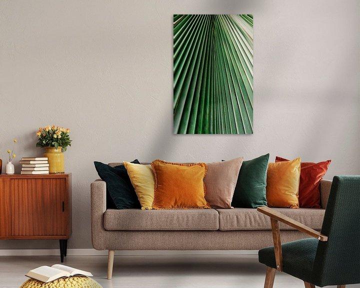 Sfeerimpressie: Palm blad close-up van Wianda Bongen