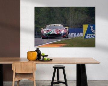 Total 6h of Spa, AF Corse Ferrari 488 EVO von Rick Kiewiet