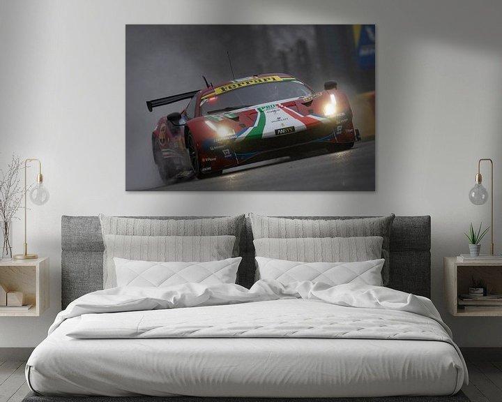 Beispiel: Total 6h of Spa, AF Corse Ferrari 488 EVO von Rick Kiewiet