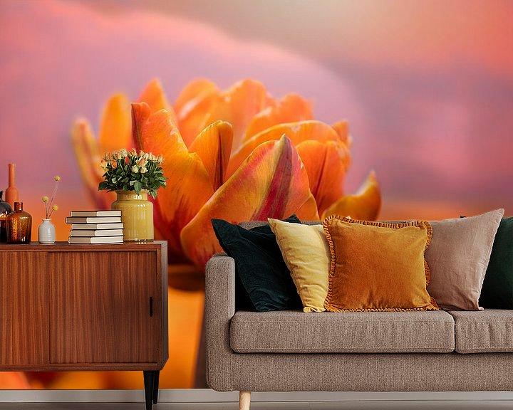 Beispiel fototapete: The orange Queen von Costas Ganasos