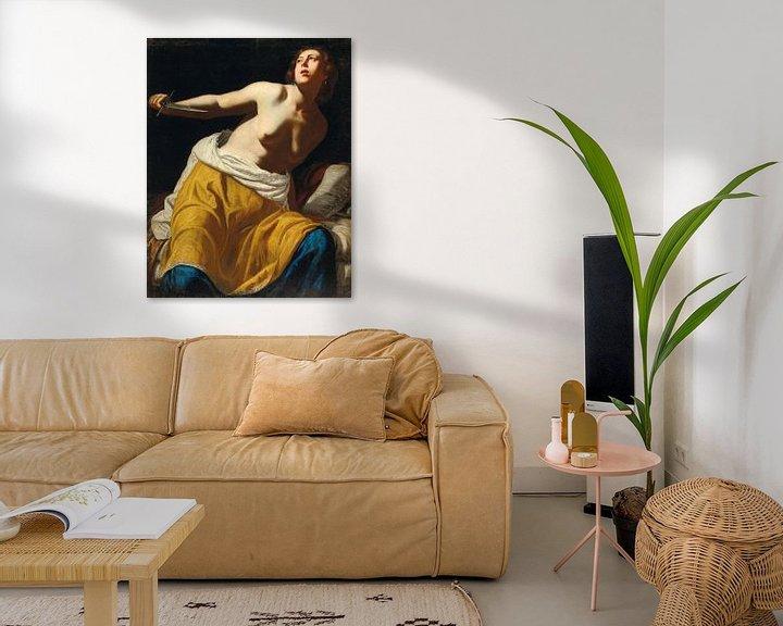 Beispiel: Lucretia, Artemisia Gentileschi