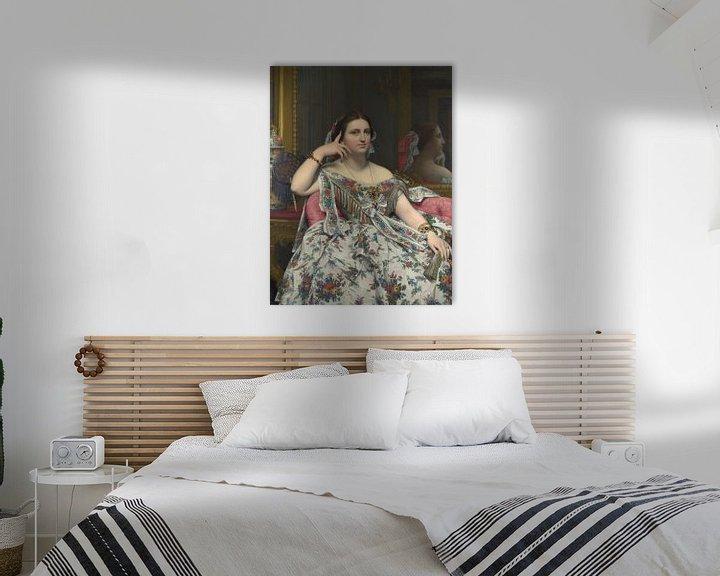 Beispiel: Madame Moitessier, Jean-Auguste-Dominique Ingres