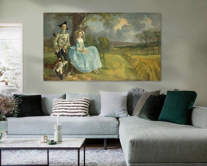 Beispiel: Mr. und Mrs. Andrews, Thomas Gainsborough