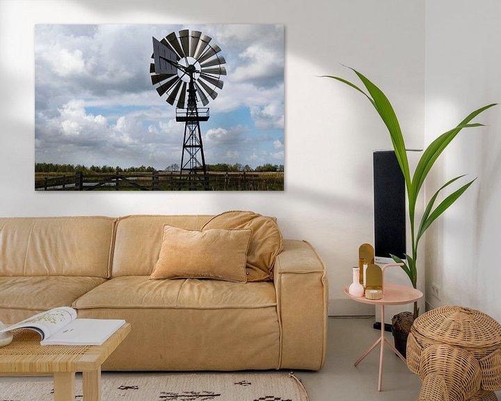 Beispiel: Windmaschine von Anjo ten Kate