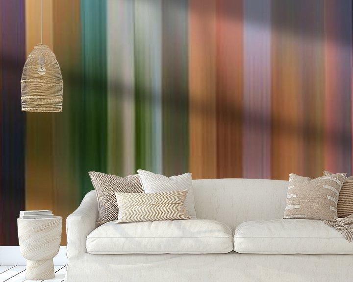 Sfeerimpressie behang: Kleurenpalet van De Onlanden van Reina Nederland in kleur