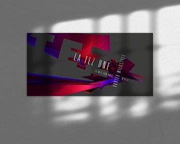 Vortex Wildstyle (2019) von Pat Bloom - Moderne 3D, abstracte kubistische en futurisme kunst