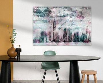 Modern Art LOWER MANHATTAN von Melanie Viola