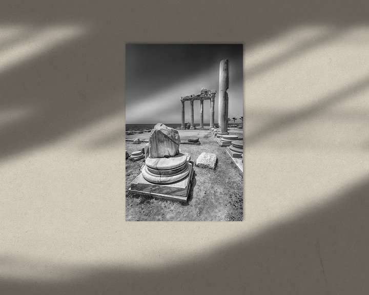 Sfeerimpressie: Overblijfselen van de Tempel van Mark Bolijn